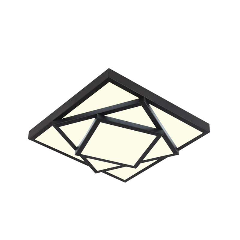 Brief Modern Style Square led Ceiling Light LED Light Restaurant Lamp,Living Room,Bedroom LED Light Fixture D40CM/53CM/63CM v2 phoenix contr 47 433 92mhz rolling code remote control copy
