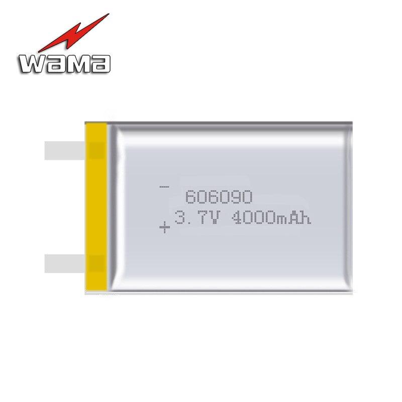 2x606090 4000 mAh Li-ion 3.7 V DIY Rechargeable Batterie Au Lithium Polymère D'alimentation De Secours Banque Numérique Produits Comprimés