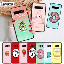 Lavaza Best Friends girls Couple Silicone Case for Samsung S6 Edge S7 S8 Plus S9 S10 S10e Note 8 9 10 M10 M20 M30 M40