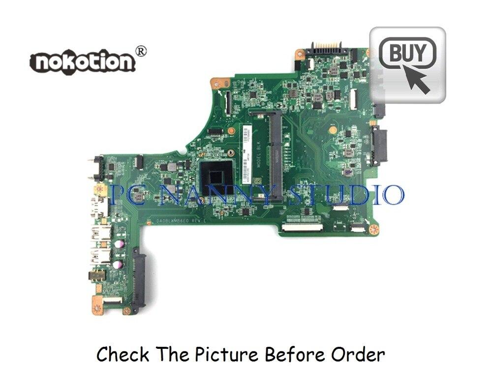 PCNANNY A000302280 DA0BLKMB6E0 FOR Toshiba Satellite L50 L50T-B L55 L55T-B Laptop Motherboard N2830 Tested