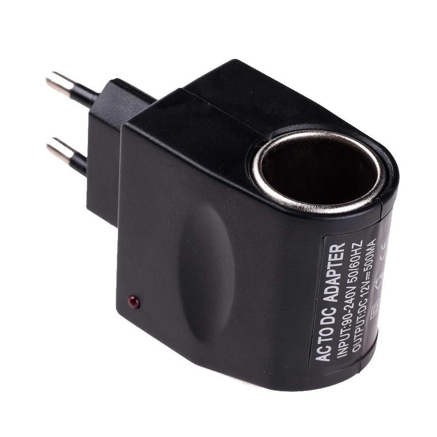 220V AC to 12V DC Car Cigarette Lighter Wall Power Socket Plug Adapter Converter