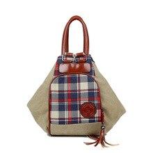 2016ใหม่ผู้หญิงผ้าใบกระเป๋าถือมัลติฟังก์ชั่หญิงเกาหลีกระเป๋าสะพายไหล่เดียวสาวแฟชั่นพู่กระเป๋าขายส่ง