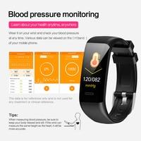 phone screen Smart Bracelet C20 Waterproof Heart Rate Monitor Fitness Tracker Wristband Color Screen Sport Smart Band for Smart Phone (2)