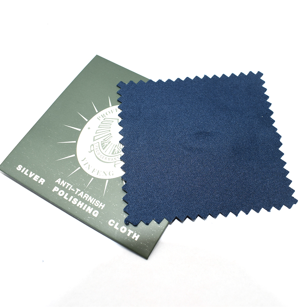 10PCS Microfiber Jewelry Cleaning Cloth Sliver Polishing