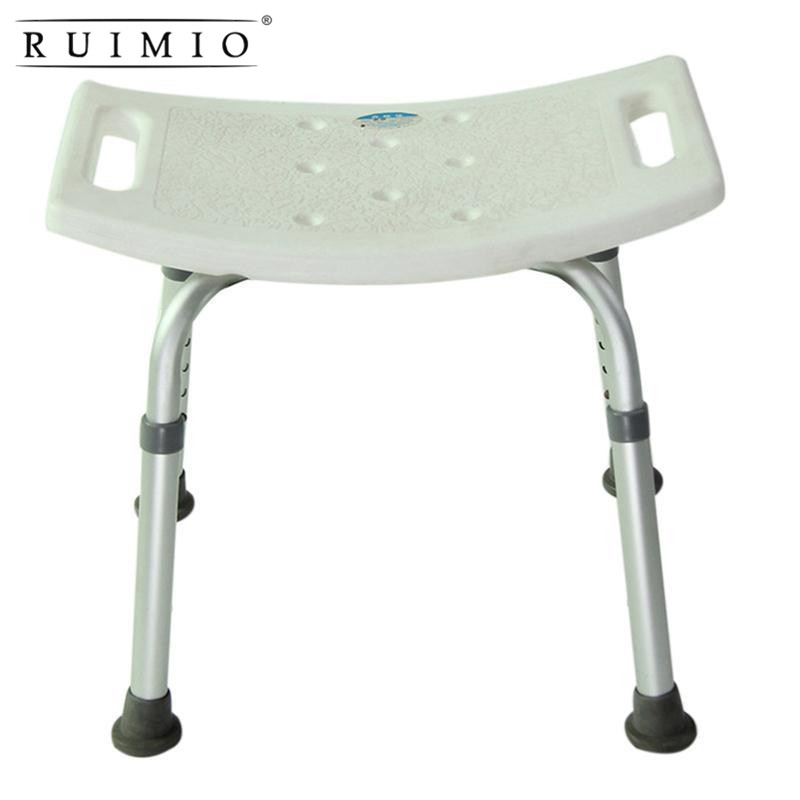 Bath Shower 6-Height Adjustable Medical Bench Chair Bathtub Medical Shower Chair Stool Seat Health Care Adjustable Bath Seat