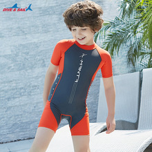 New Professional Swimsuit Children baby girl Kid One-Piece Swimming Suit Sports Racing Swimwear boys Body building Bathing Suit