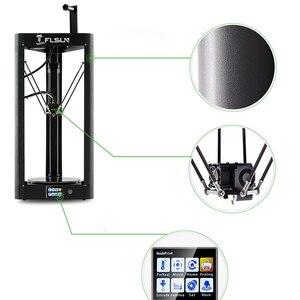 Image 4 - 2019 Tốc Độ Cao 3D Máy In Flsun QQ S Tự Động San Bằng Đồng Bằng In Lớn Kích Thước 3D Printer Màn Hình Cảm Ứng Wifi