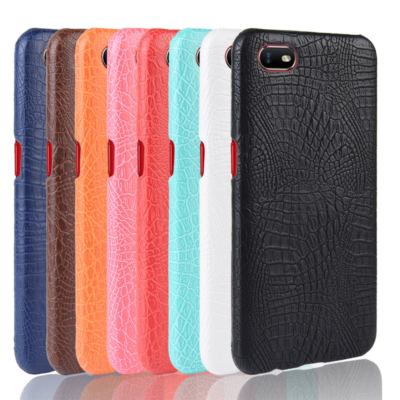 Realme C2 case Luxury Crocodile Skin PU leather Protective Case Cover For OPPO Realme C2 RealmeC2 RMX1941 phone Cover