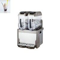 2 * 15l 슬러시 기계/냉동 음료 기계/얼음 슬러시 기계 만능 조리 기구 가전 제품 -