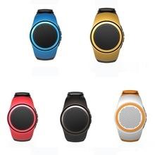 Bluetooth Sports Music Wireless Bluetooth Smart Watch Mini Subwoofer Speaker Support TF Card FM Audio Radio