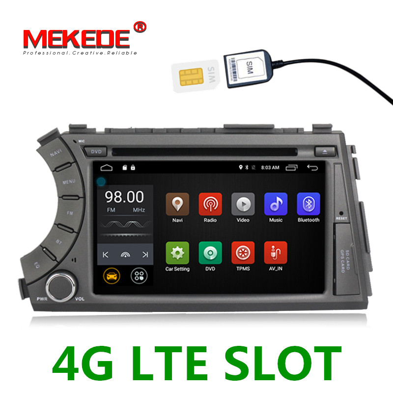Russian warehouse 4G slot car gps navigation dvd car Multimedia Auto radio player for Ssangyong Actyon