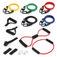 Resistance Bands Set Strength Training Rehabilitation Fitness Bands Exercise Tube Resistance Band Fitness Training Equipment