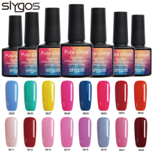 SLYGOS 10ML Soak Off UV Nail Gel Polish 60 Colors Long Lasting DIY LED Curing Lacquers