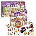 Bela 10547 amigos heartlake grand hotel building blocks ladrillos decool juguetes niña juguetes para niños casa de juegos de regalo lepin 41101