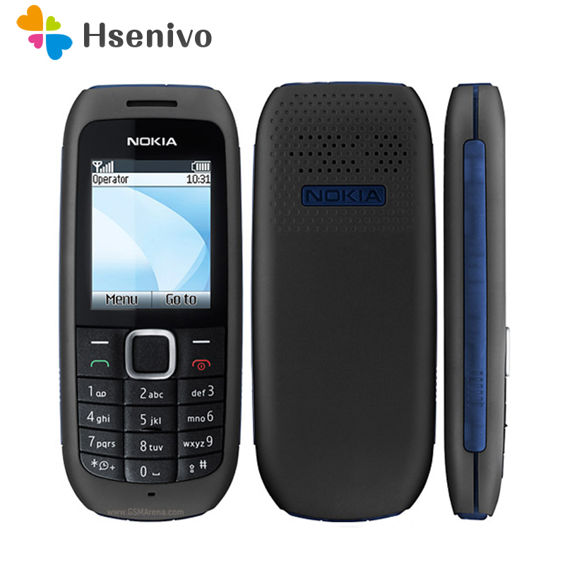 1616 Original Refurbished NOKIA 1616 Mobile Phone GSM Unlocked Phone Refurbished