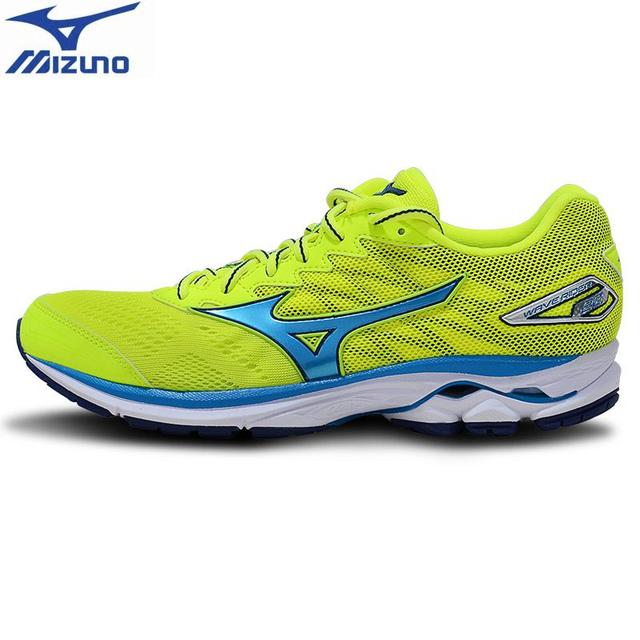 wholesale dealer 4020b 0daf9 MIZUNO Men Women WAVE RIDER 20 Osaka Marathon Running Shoes Cushion  Stability Sports Shoes Breathable Sneakers