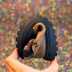 Image 4 - Kinder Echtem Leder Schuhe Für Jungen Hochzeit Schuhe Große Kinder Rindsleder Casual Turnschuhe Mode Jungen Loafers Mokassins Marke Schuh