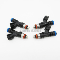 4pcs Lot Fuel Injector Nozzle 0280158055 For Land Rover Mazda B4000 Mercury Mountaineer GMC Ford
