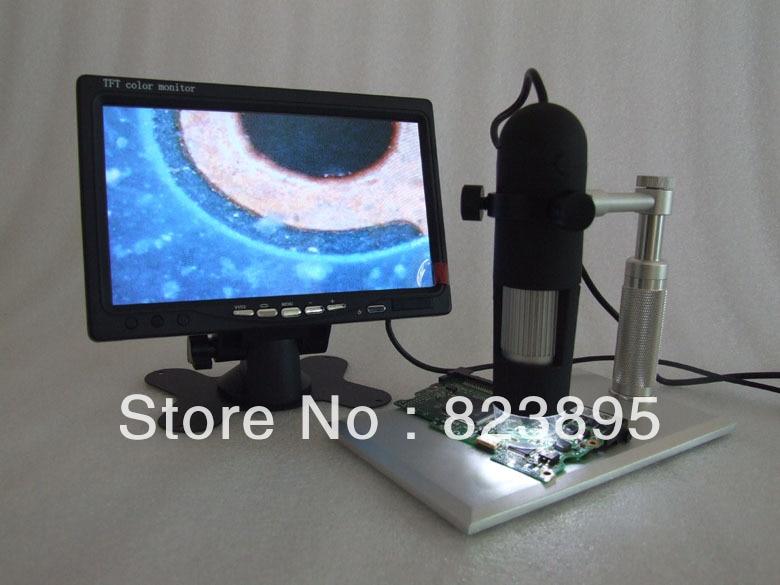 aluminium alloy bracket  AV 800X HD digtal microscope AV handheld endoscope camera adapt  to TV LCD monitor 2mp hd 2000x av handheld endoscope video microscope