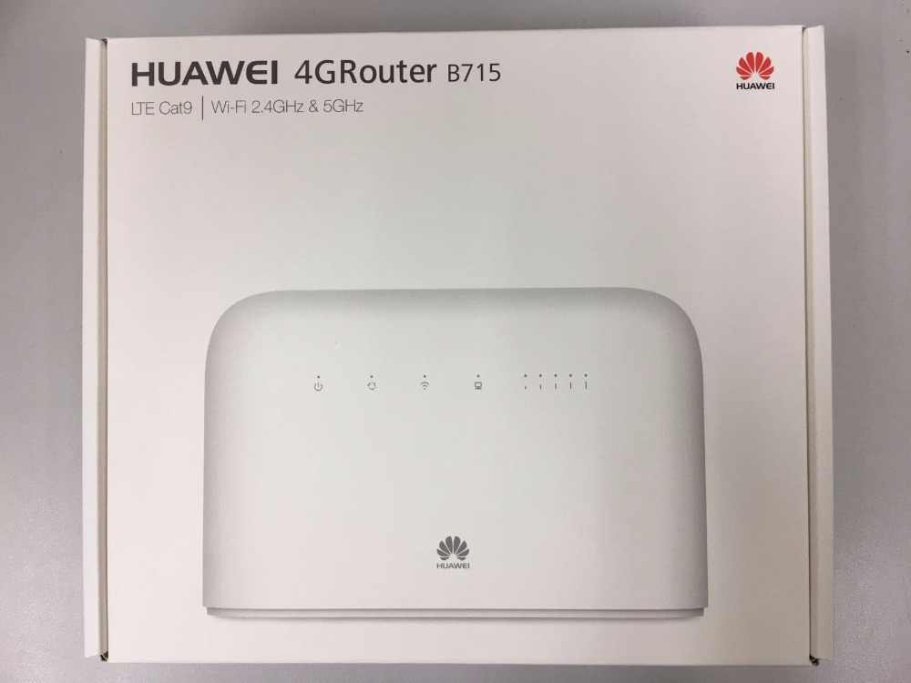 Huawei B715s-23c LTE Cat9 4G LTE Banda 1/3/7/8/20/28/32/38 FDD700/800/900/1500/1800/2100/2600MHz 2600MHz TDD WiFi CPE VOIP Router
