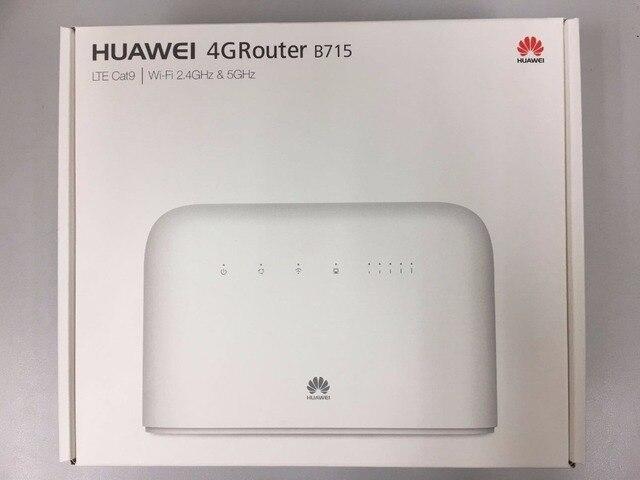 Huawei B715s-23c LTE Cat9 4G LTE banda 1/3/7/8/20/28/ 32/38 FDD700/800/900/1500/1800/2100/2600 MHz TDD 2600 MHz wiFi CPE Router VOIP de la