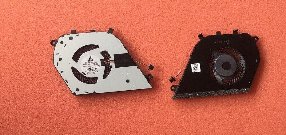 Nouveau pour DELL Inspiron 5-7000 15 7570 7573 ventilateur 0Y64H5