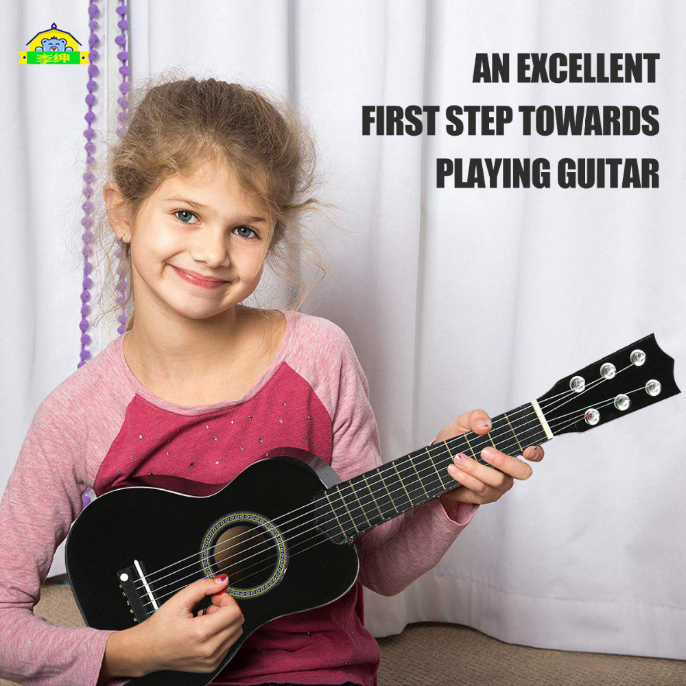 21 Inches Mini Ukulele Simulation Guitar Kids Musical Instruments Toy Music Education Development Kids Birthday Christmas Gift