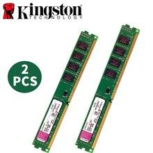 קינגסטון מחשב זיכרון RAM Memoria מודול שולחני DDR2 DDR3 1GB 2GB 4GB PC2 PC3 667MHZ 800MHZ 1333MHZ 16005MHZ 667 800 1333 1600 8GB