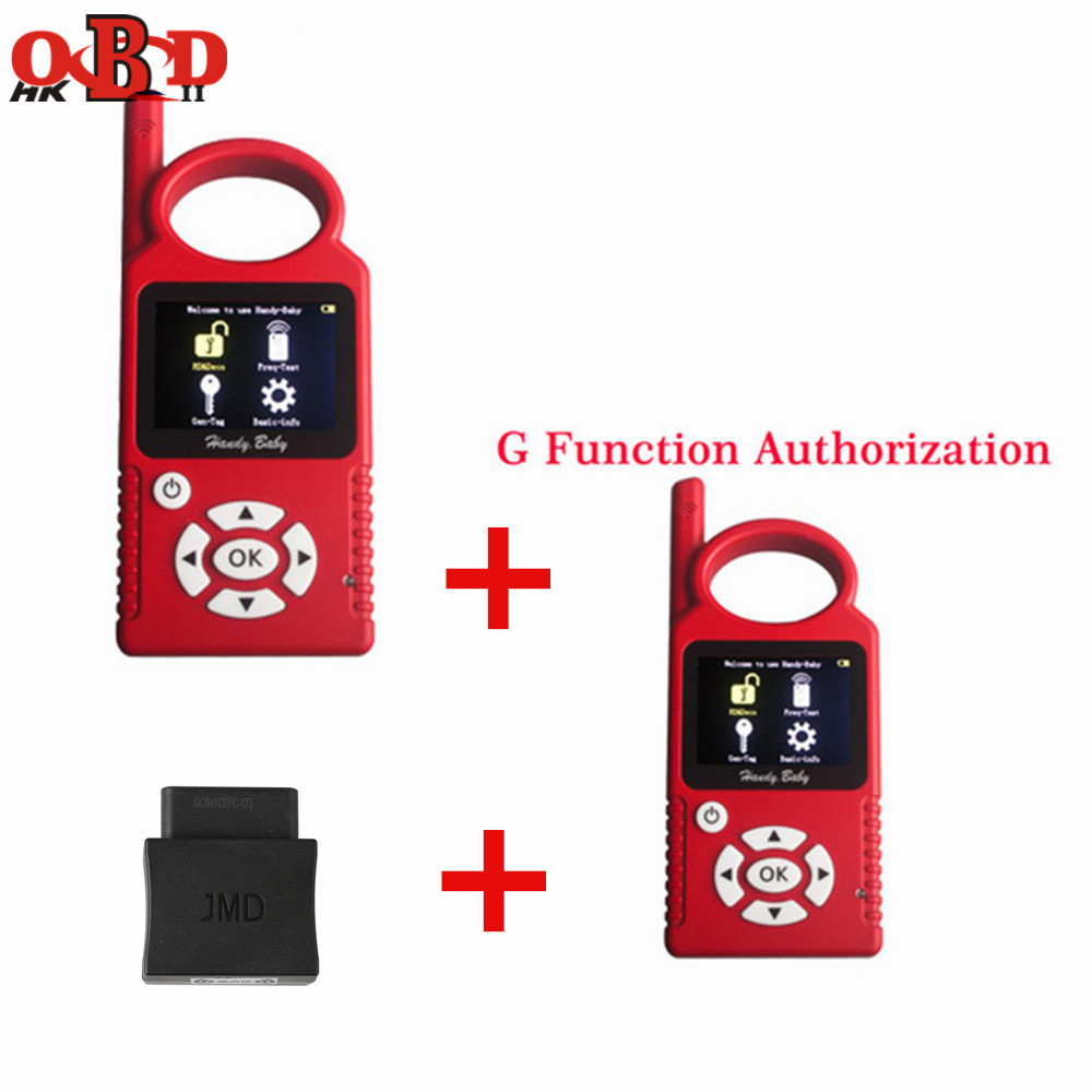 JMD Handy Baby Hand held Auto Key Tool for 4D 46 48 G King Chip Programmer