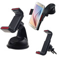 High Quality 2016 Balck+White Universal Car Windshield extension arm Mount Holder phone car holder For Mobile Phone GPS