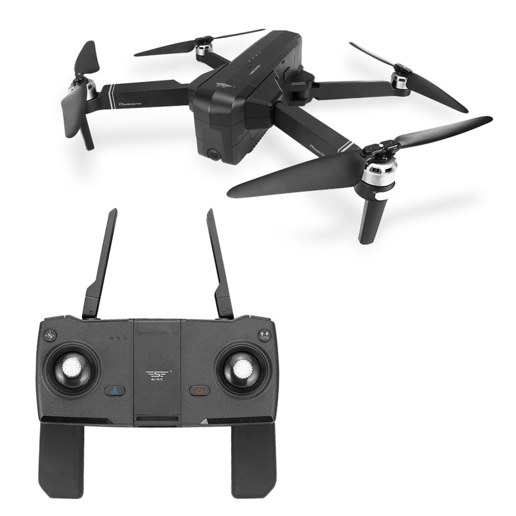 Mini Drone with Camera Foldable RC Drone Quadcopter Aircraft Brushless Motor RC Helicopter For Children