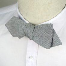 YFHLB0107 New Cotton Mens Self Tie Bow