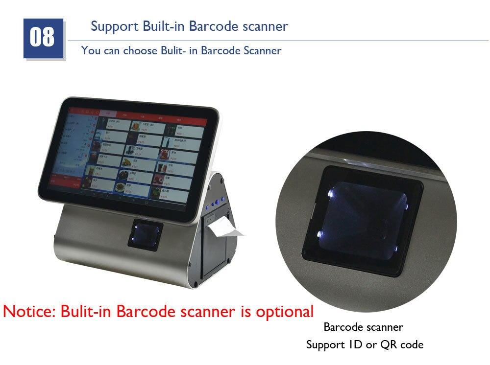 e 1d ou 2d scanner de código de barras