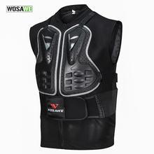 Защитный жилет без рукавов wosawe для мотоциклистов