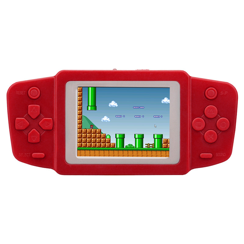 NEW Portable handheld game machine GamePad Tetris 2.4-inch color screen  children`s educational games consoles Built-in games