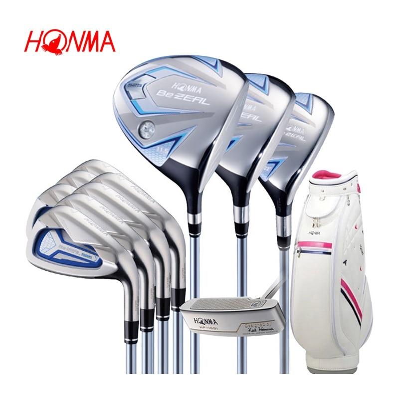 touredge Golf irons HONMA BEZEAL 525 Golf clubs with Graphite Golf shaft L flex No bag Free shipping