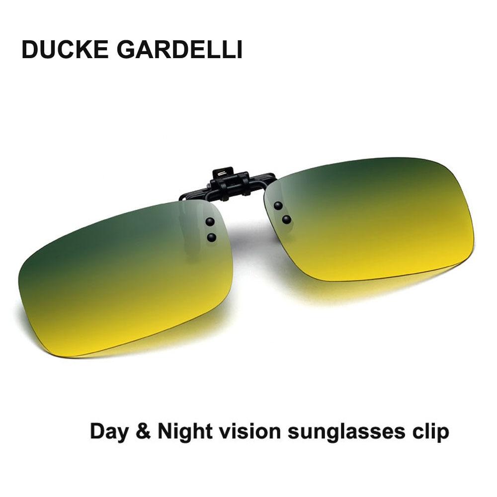 Treu Tag & Nacht Vision Sonnenbrille Abgeschnitten Polarisierte Sonnenbrille Clip Auf Myopie Gläser Für Driving Reisen Flip Up Sonnenbrille Oculos Ein Kunststoffkoffer Ist FüR Die Sichere Lagerung Kompartimentiert