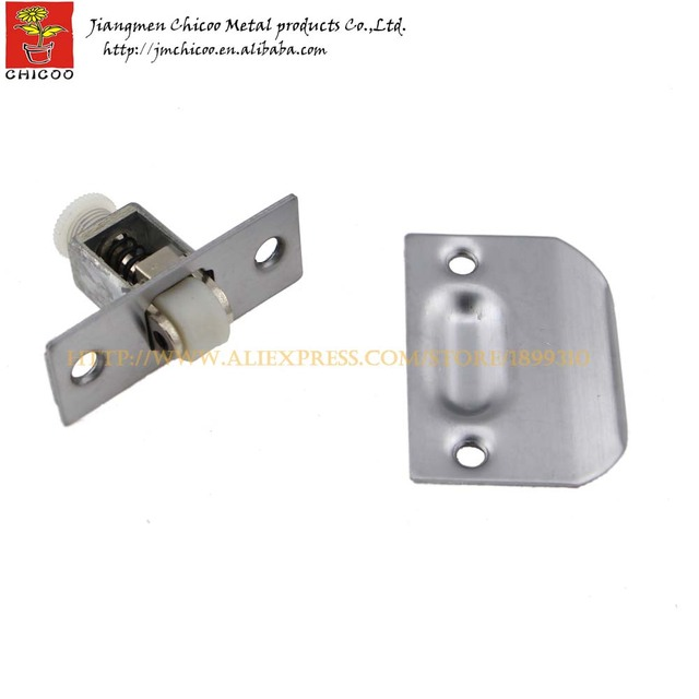 Wholesale 10Pieces Stainless Steel + Zinc Alloy +plastic Door Ball Catch,closet  Door Ball