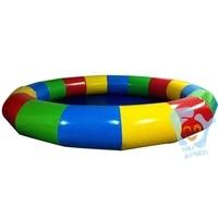 Dia 6m Inflatable Round Swimming Pool Water Walking Ball Pools Park Custom Color Free Air Pump