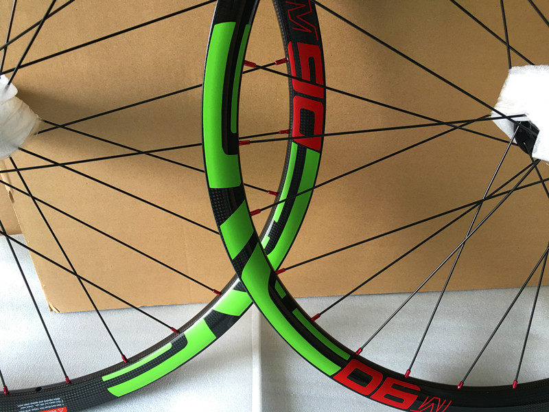 Carbon 27.5er MTB wheels Hookless 29er 35mm Wide Clincher mountain bike racing wheels 15mm/12x142mm Thru Axle hub carbon mtb 650b rims stiffer dh bike part 27 5er 35x25mm wide down hill jumping racing ride excellent cycling parts store online