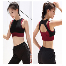 Kyncilor Sports Bra, Ring-free Underwear, Shock-proof Mesh Splicing, Widening and Breathing Fitness Garment
