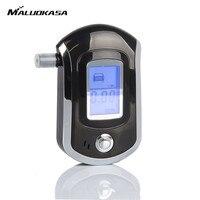 MALUOKASA Professional Mini Alcohol Tester Smart Digital LCD Screen Breath Alkohol Breathalyzer AT6000 Bafometro Alcoholimetro