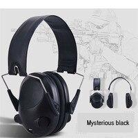 Earphones TAC 6s Anti Noise Tactical Headset Sport Hunting Earmuff Headphone td1225 Dropship