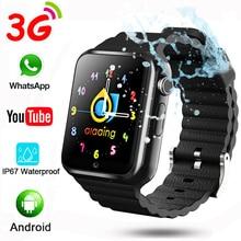 3G Child Boys Girls Kids Watch Wifi Video Call Camera Whatapp Youtube APP IP67 Swimming Smart Watch SmartWatch 32G v7w