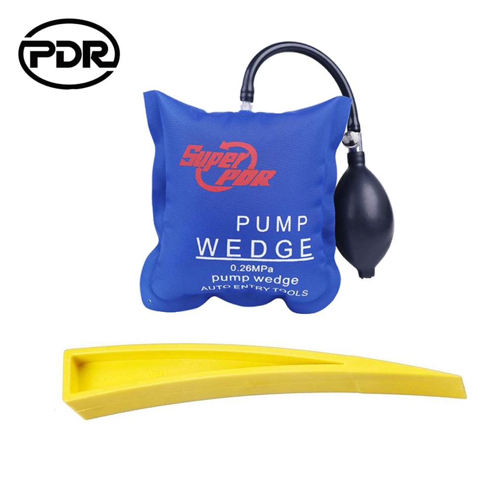 PDR Tools Locksmith Tools Auto Air Wedge Airbag Lock Pick Set Open Car Door Lock Paintless Dent Removal Tools Hand Tools