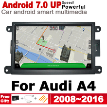 IPS Android 2 DIN Car DVD GPS For Audi A4 8K 2008~2016 MMI Navigation multimedia player Stereo radio WiFi system 10 25 ips quad core android 6 0 capacitive screen car dvd for audi a4 a5 q5 2010 2016 car radio gps navigation stereo headunit
