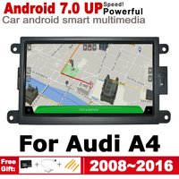 IPS Android 2 DIN Car DVD GPS For Audi A4 8K 2008~2016 MMI Navigation multimedia player Stereo radio WiFi system