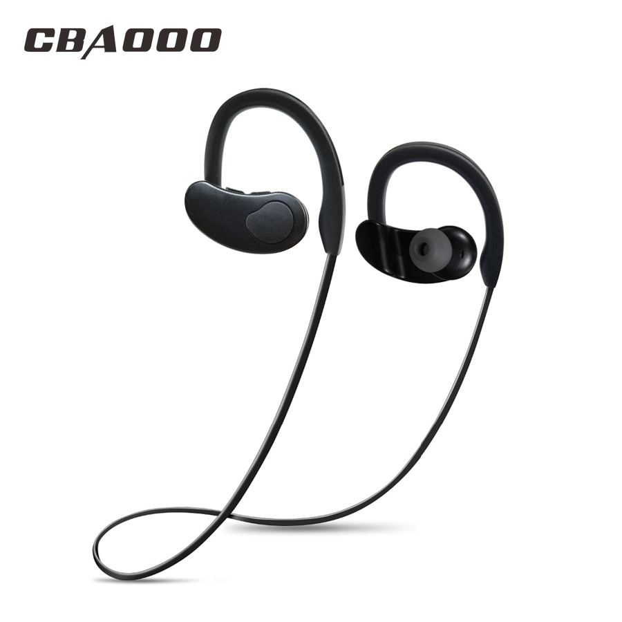 120mA Bass Bluetooth Earphones Sport Wireless Headphones Headset For Mobile Phone Ear-Hook Stereo Bluetooth Earbuds With Mic аксессуар защитное стекло huawei p9 lite svekla 0 26mm zs svhwp9lite