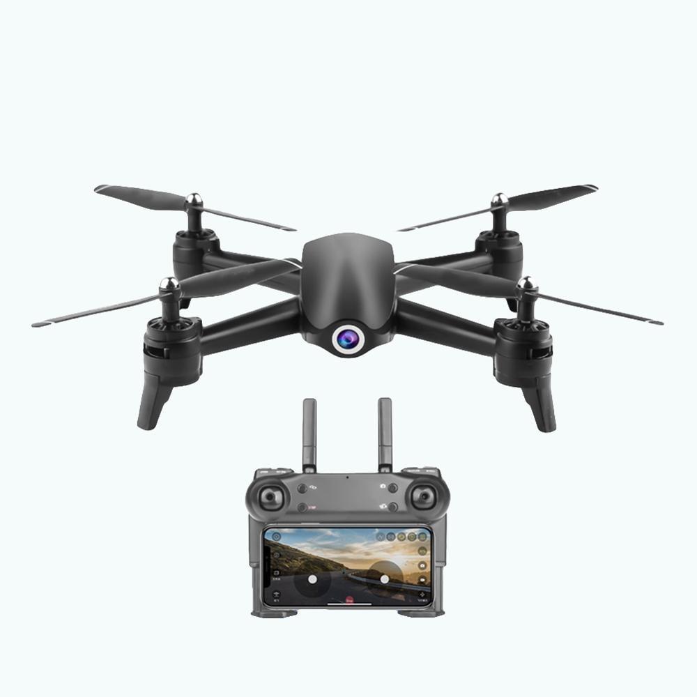 2.4GHz Câmera HD Controle App Wi-fi Fluxo Óptico Avião FPV RC Quadcopter Zangão GPS