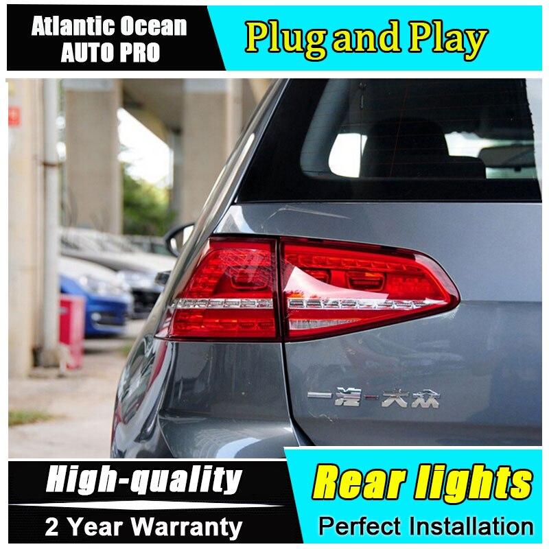 JGRT автомобиль для укладки для VW Гольф 7 задние фонари 2013-2016 для Гольф 7 МК7 светодиодный задний фонарь задний фонарь задний свет 1 пара ,4шт
